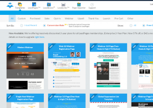 leadpages.net review templates