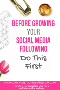 If you're trying to grow your social media following, stop first and read this There's a wrong way and a right way to grow a following from scratch, so in this post I'll outline exactly what you need to be doing. social media, growing a following, growing followers, gaining followers