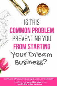Most would-be entrepreneurs cite this as their main reason for why they haven't started their own business yet. Here's what to do if that's you. starting your dream business, entrepreneur, strategy, bootstrap