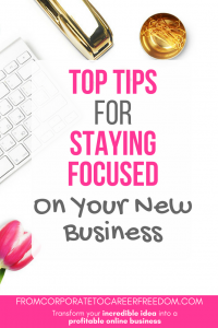 lacking motivation to push your business forward? Here are some practical tips for how you can stay focused and get results