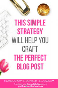 Before you write one more blog post, read this first! It will explain in simple steps the question you must always ask before you write that new post so that it really works to grow your business the right way.