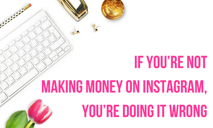 making money on instagram