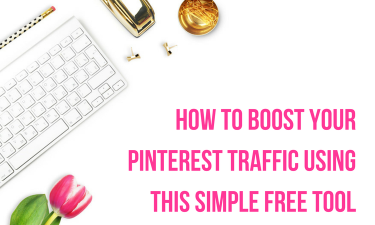 how to boost your pinterest traffic using this simple free tool - hint, its not tailwind or boardbooster, blogging, pinterest, traffic, tips, strategies, seo, google
