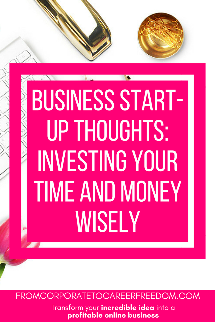 Here are some suggestions as to where you should be investing your time and money in your new business start-up and how to get the most out of those investments to help your new enterprise to grow rapidly, funding, financing, planning, entrepreneur