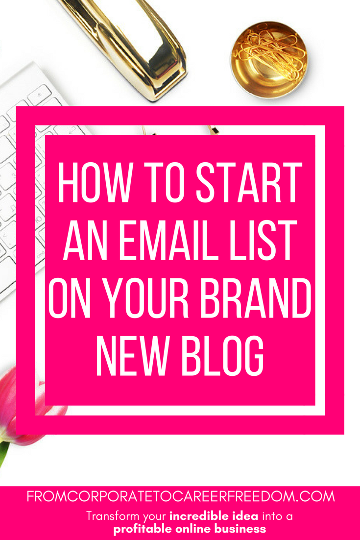 list building series part one - how to set up an email list on your blog, blogging, email, subscribers, growing, tips, recommendations