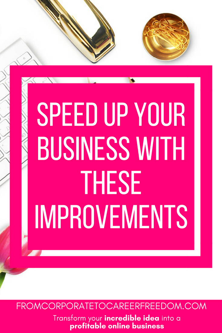 Want a more profitable business? Want to beat the competition? Here's some great tips on how you can run your business faster and more efficiently, startup, small business, entrepreneur, speed, growth, growing