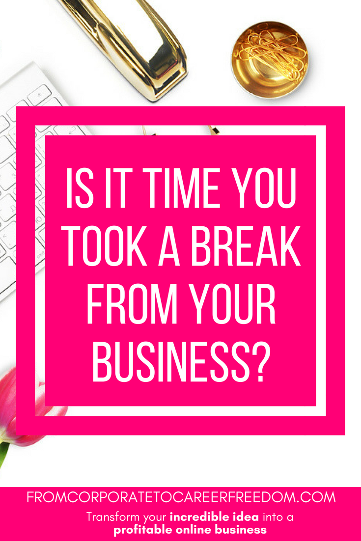here are a few simple signs to look out for to see if you are suffering stress from your online business and that it might be time to take a break, entrepreneur, online, small business, problems, motivation