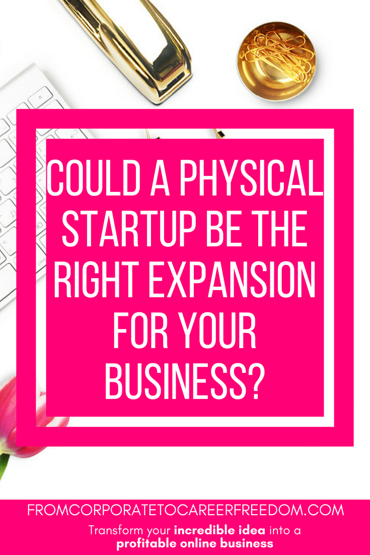 Ever thought about expanding your online business to a physical location It might be a really smart move for your business growth, and here's why #entrepreneur #startup #ecommerce