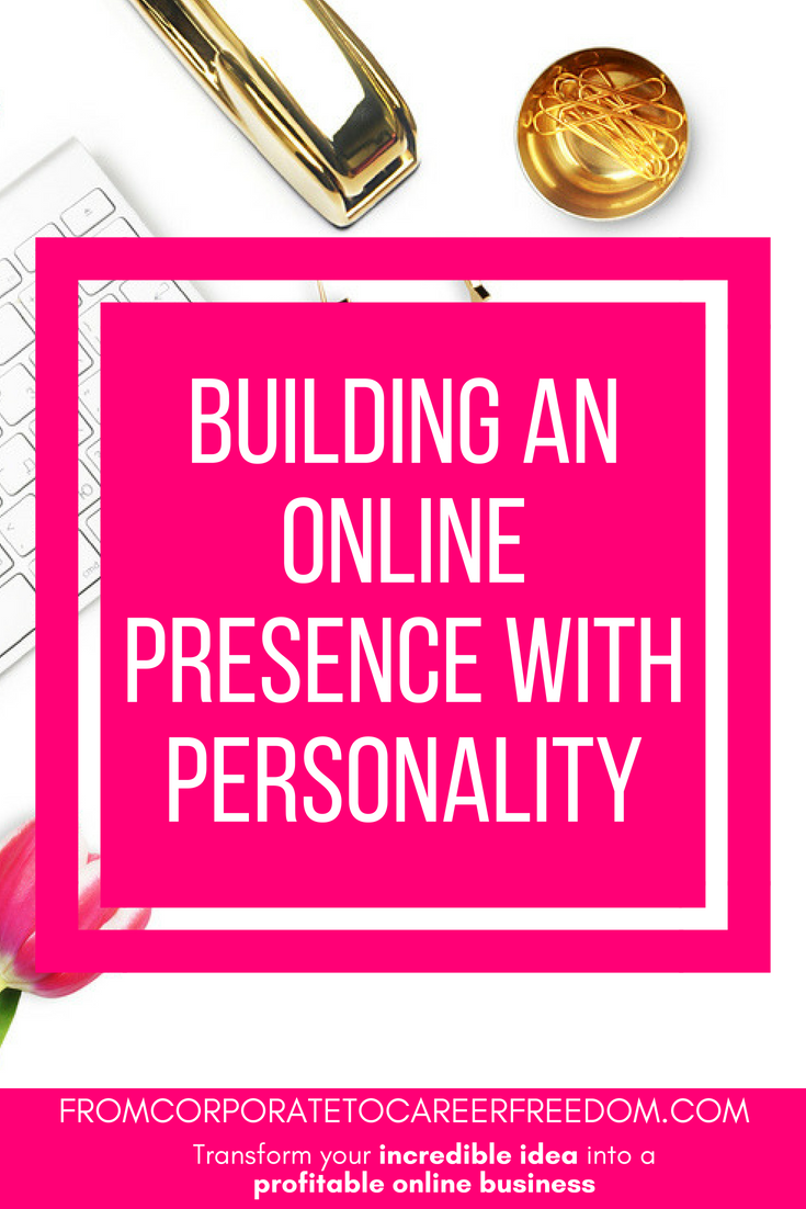 Standing out online is essentail to any successful blog and business. Here's how to build a brand with personality that will help your startup to grow #branding #onlinebusiness #entrepreneur