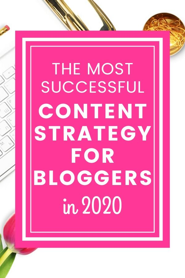 This is the most successful content strategy for bloggers to try in 2020